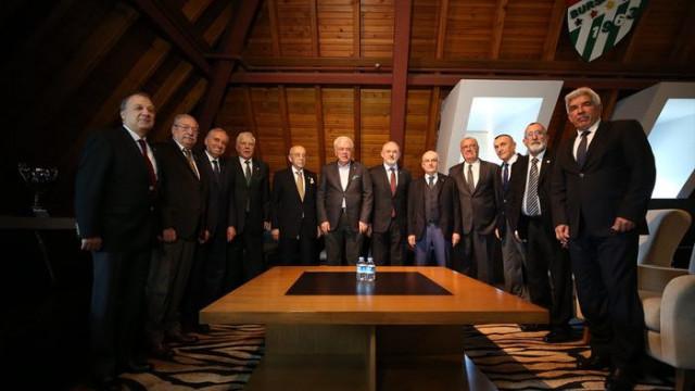 Süper Lig'in 5 şampiyon takımının Divan Kurulu başkanları bir araya geldi
