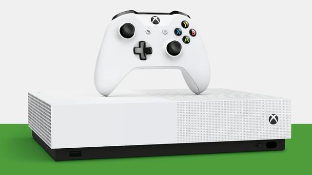 Xbox One S All-Digital Edition için geri sayım