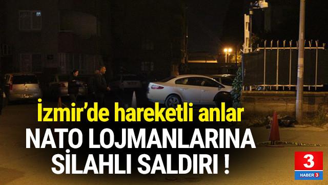 İzmir'de NATO lojmanlarına saldırı !
