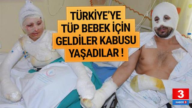 Tüp bebek için Türkiye'ye geldiler kabusu yaşadılar