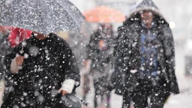 Meteoroloji'den yeni kar yağışı uyarısı !