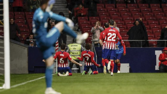 Atletico Madrid 3 - 2 Valencia