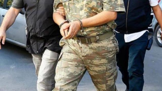 161'İ rütbeli 210 askeri personel hakkında gözaltı kararı