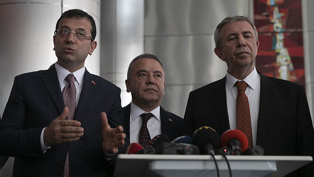 İmamoğlu: ''Saldırı Kılıçdaroğlu'na değil, Türkiye'ye yapılmıştır''