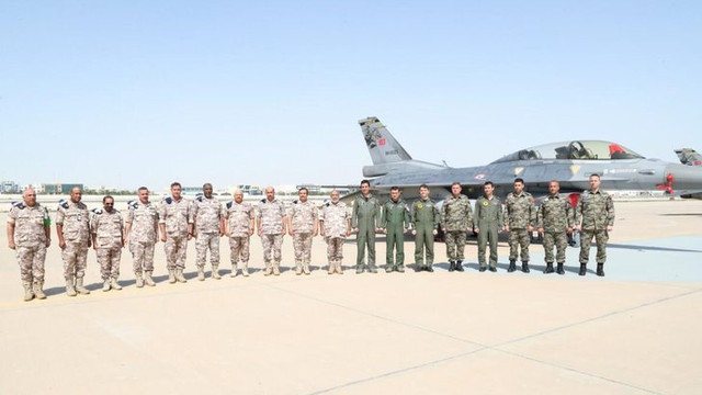 Katar'da ''Şahin 21'' hava tatbikatı