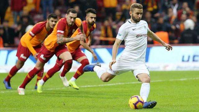 Atiker Konyaspor Galatasaray galibiyetine hasret