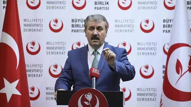 BBP Genel Başkanı: ''Türkiye İttifakı'na varız''