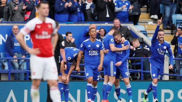 Leicester City 3 - 0 Arsenal (İngiltere Premier Ligi)