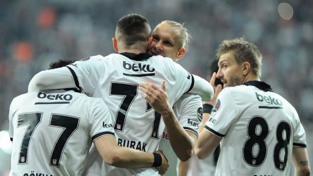 Süper Lig'de ikinci yarının lideri Beşiktaş