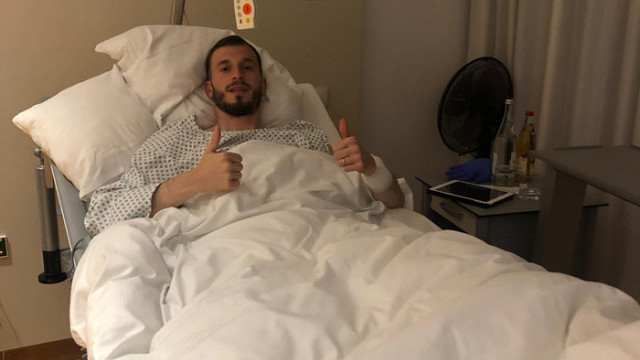 Atiker Konyasporlu futbolcu Petar Filipovic ameliyat oldu
