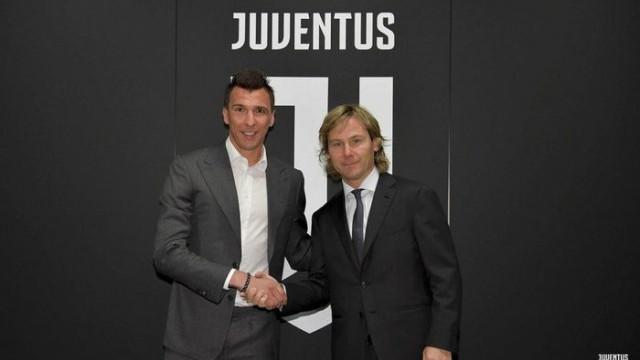 Juventus'ta Mario Mandzukic'in sözleşmesi uzatıldı