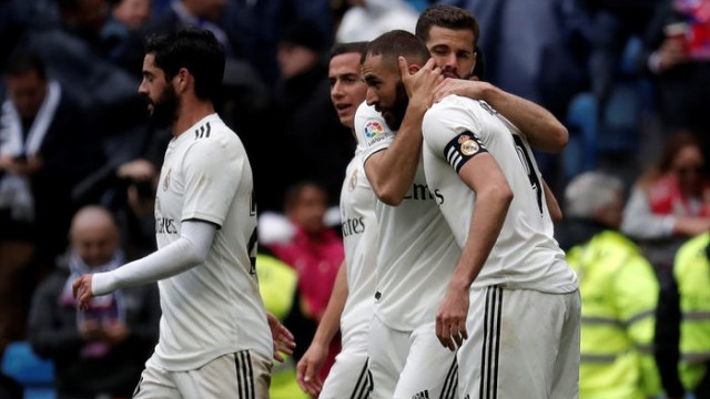 Real Madrid 2 - 1 Eibar (La Liga)