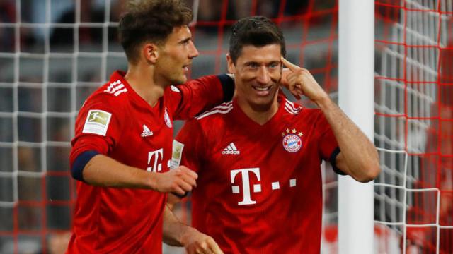 Bayern Münih 5 - 0 Borussia Dortmund (Bundesliga)