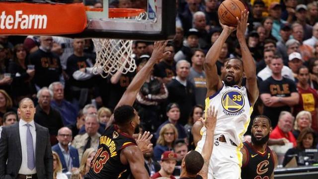 Golden State Warriors'ta Kevin Durant, Houston Rockets'a karşı yok