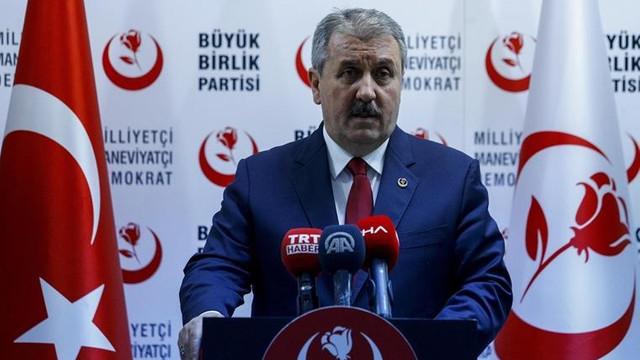 BBP'de kriz: Merkez yöneticileri istifa etti