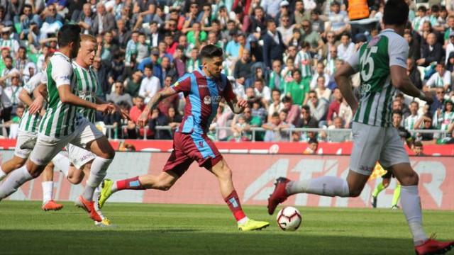Konyaspor 2 - 2 Trabzonspor (Süper Lig puan durumu)