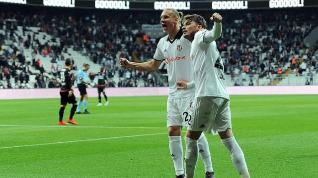 Adem Ljajic Beşiktaş formasıyla ligde 9. golünü attı