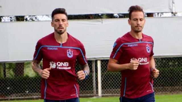 Trabzonspor'a Sosa ve Pereira'dan iyi haber