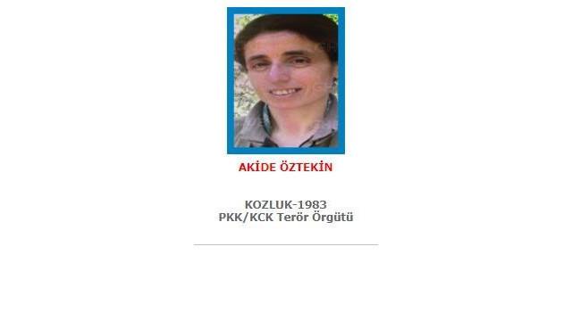 Mavi kategoride aranan terörist öldürüldü