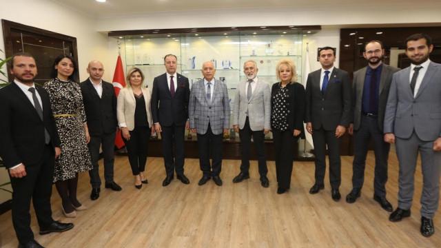 Genç girişimcilerden Yaşar'a hayırlı olsun ziyareti