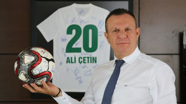 Abalı Denizlispor Başkanı Ali Çetin: Süper Lig'deki hedefimiz ilk 5
