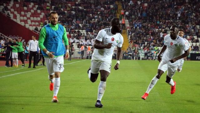 Akhisarspor'un golü sonrası olay