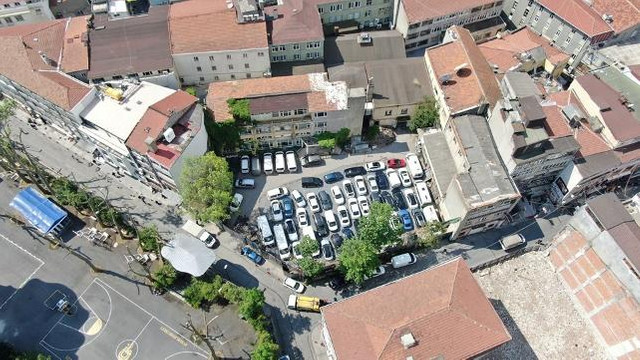 İstanbul'un ''Pembe Köşk'ü otopark oldu