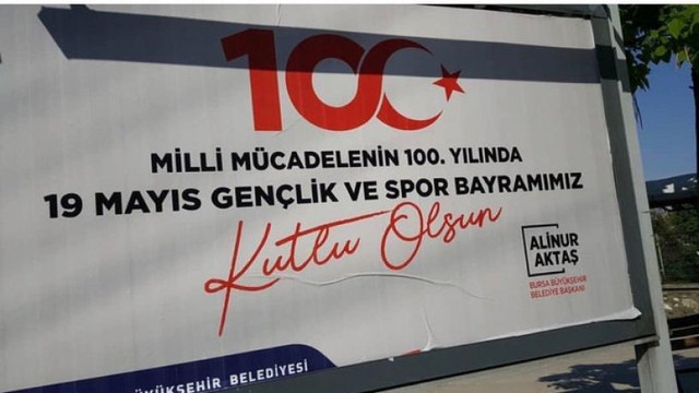 AK Partili belediyeden skandal afişe komik savunma