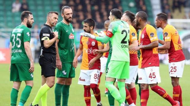 Rizespor - G.Saray maçının tekrarı için karar açıklandı!