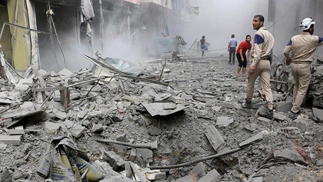 BM: ''Halep'teki saldırıda 10 kişi öldü, 30 kişi yaralandı''