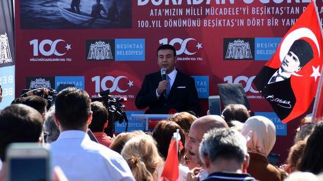 Beşiktaş Belediyesi'nden bağımsızlığımızın 100. yılında ilk adım yürüyüşü