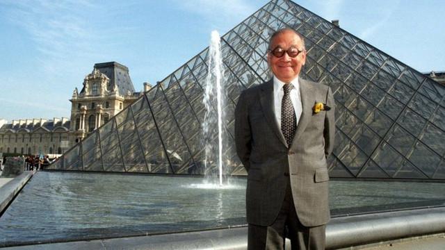Louvre Müzesi'ndeki piramitin mimarı yaşamını yitirdi