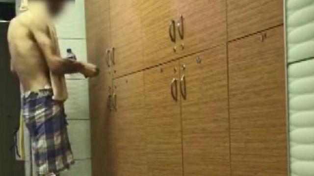 SPA merkezinde kameralara böyle yakalandı