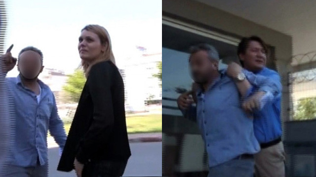 Esra Erol'un ekibine canlı yayında saldırı