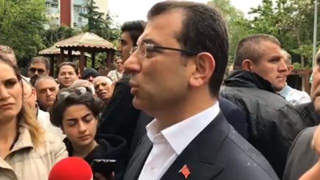Binali Yıldırım'a yapılan protestoya İmamoğlu yorumu