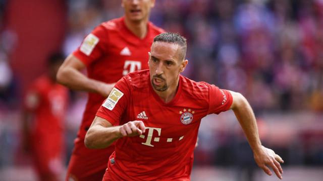 Franck Ribery'den şampiyon olan Galatasaray'a tebrik