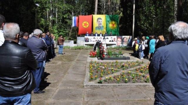 Moskova'da PKK anması !