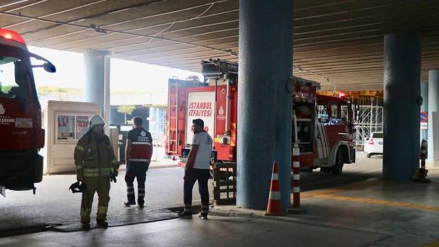 İstanbul Anadolu Adalet Sarayı'nda yangın paniği