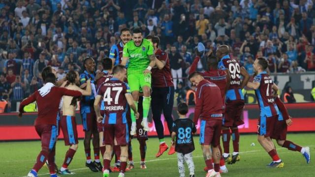 Trabzonspor, Galatasaray'dan sonra iç sahadaki en iyi takım oldu