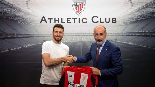 Athletic Bilbao Aritz Aduriz'in sözleşmesini 1 yıl uzattı
