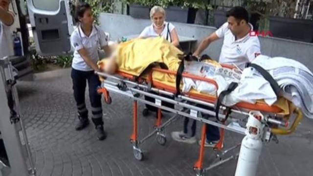 İstanbul'da hastane yangını