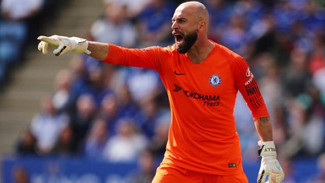 Chelsea'de Willy Caballero'nun sözleşmesi uzatıldı