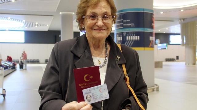 69 yıl sonra Türkiye'ye döndü