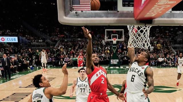 Toronto Raptors, Milwaukee Bucks karşısında seride öne geçti