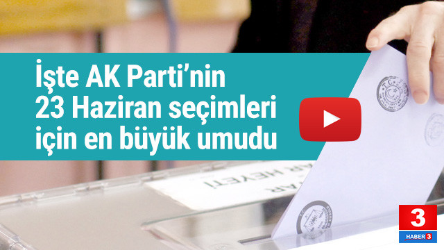 İşte AK Parti'nin İstanbul umudunun kaynağı