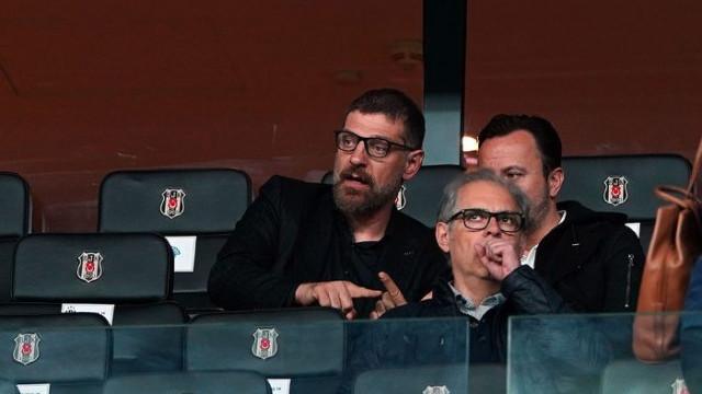 Beşiktaş - Kasımpaşa maçını Slaven Bilic tribünden takip etti