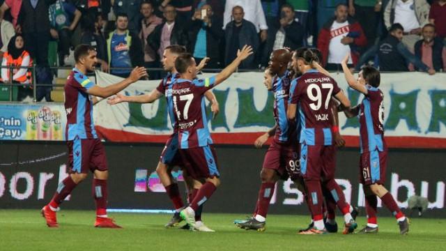 Trabzonspor kazandı ama yetmedi