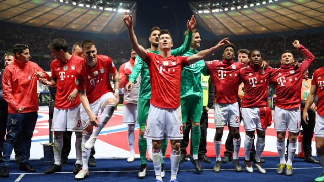 Leipzig 0 - 3 Bayern Münih
