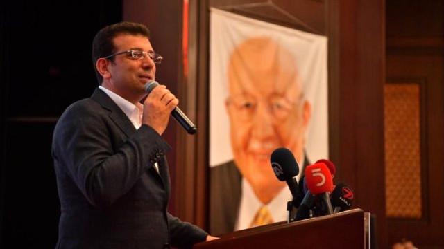 İmamoğlu Saadet Partisi'nin iftarına katıldı