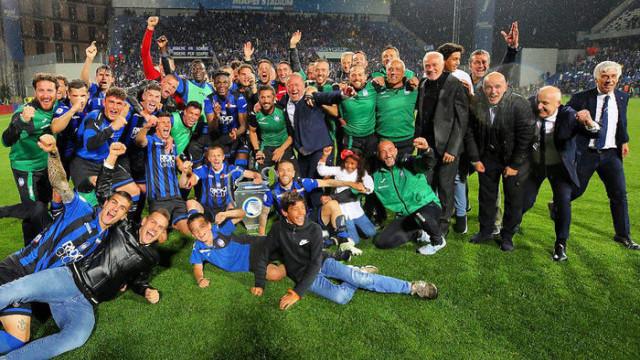 Atalanta, 112 yıllık tarihinde ilk kez Şampiyonlar Ligi'ne katıldı!